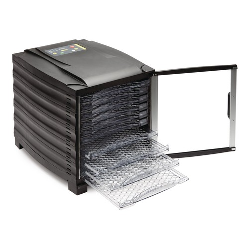 Buffalo 10 Tray Dehydrator with Timer and Door