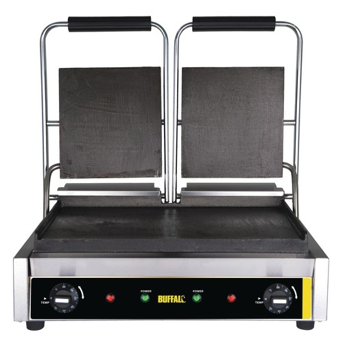 Buffalo Bistro Contact Grill Double Flat